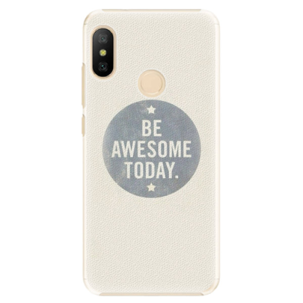 Plastové pouzdro iSaprio - Awesome 02 - Xiaomi Mi A2 Lite