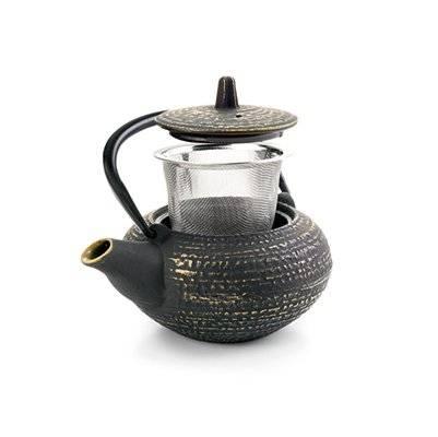 Litinová konvička na čaj Osaka 400ml