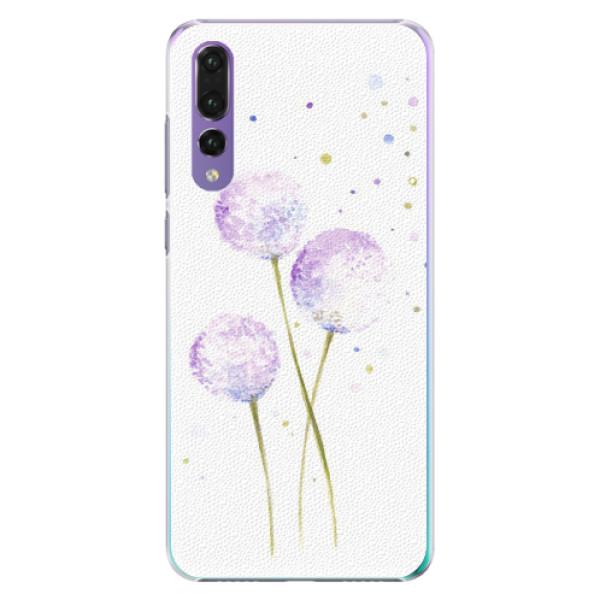Plastové pouzdro iSaprio - Dandelion - Huawei P20 Pro