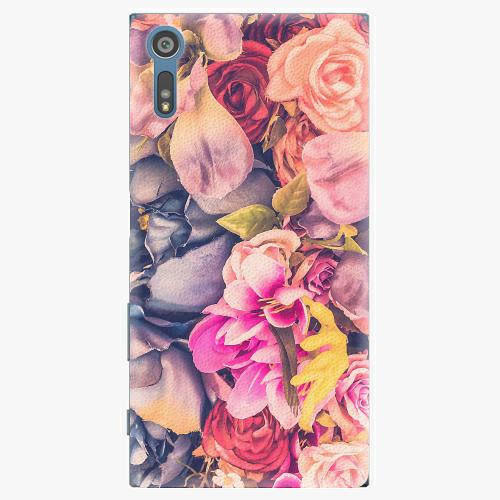 Plastový kryt iSaprio - Beauty Flowers - Sony Xperia XZ