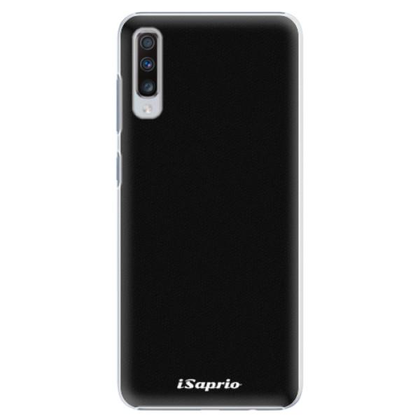 Plastové pouzdro iSaprio - 4Pure - černý - Samsung Galaxy A70