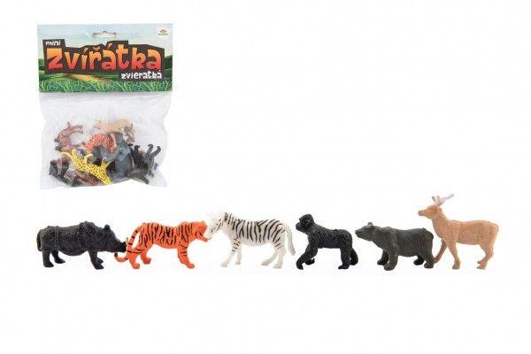 Zvířátka safari - 12 ks