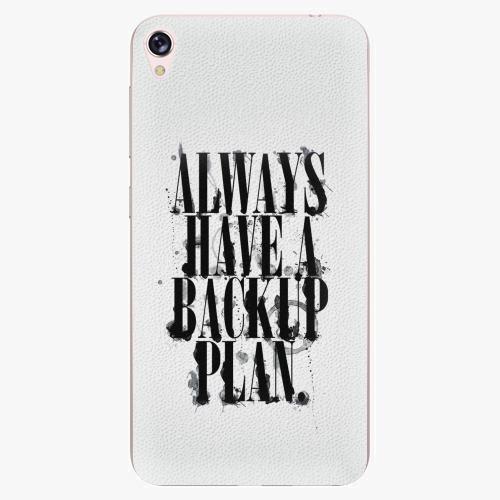 Plastový kryt iSaprio - Backup Plan - Asus ZenFone Live ZB501KL
