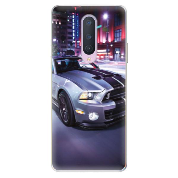 Odolné silikonové pouzdro iSaprio - Mustang - OnePlus 8