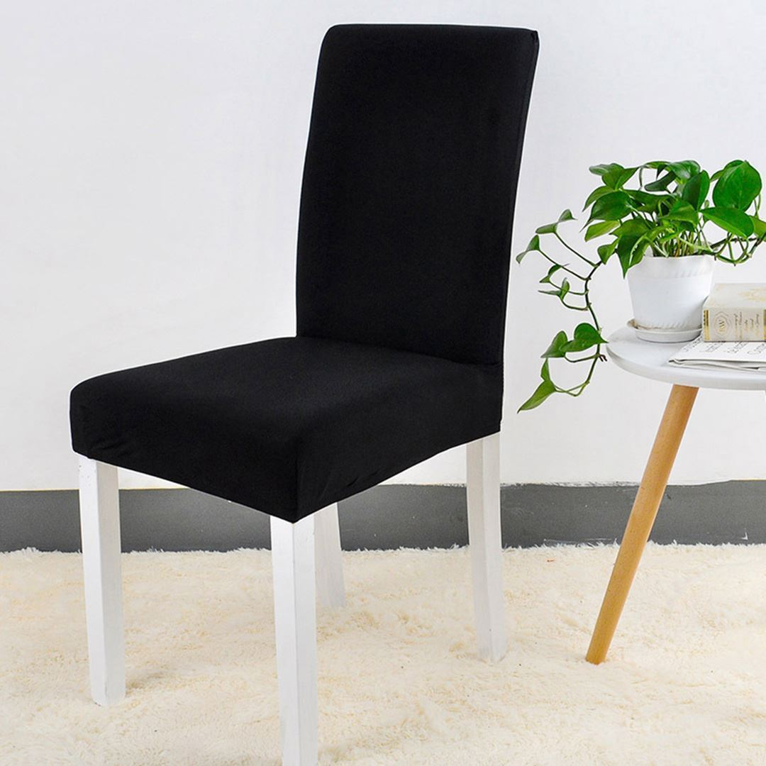 Potah na židli - černý
