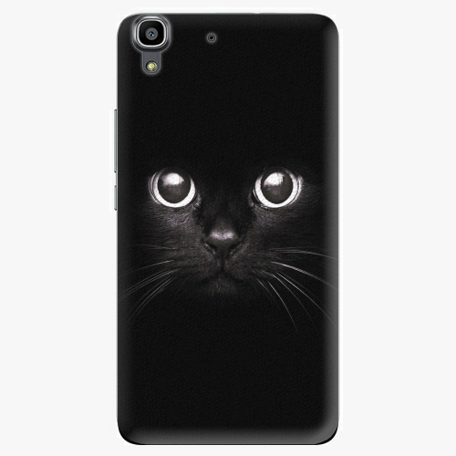 Plastový kryt iSaprio - Black Cat - Huawei Ascend Y6