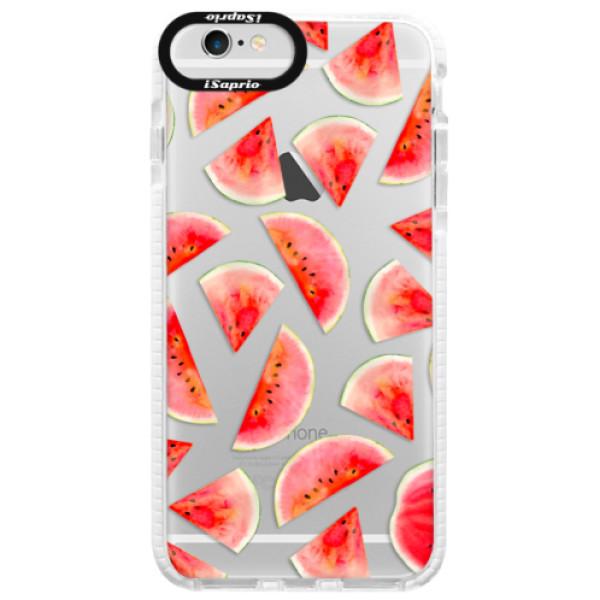 Silikonové pouzdro Bumper iSaprio - Melon Pattern 02 - iPhone 6/6S