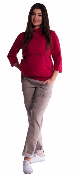 be-maamaa-tehotenske-kalhoty-letni-bez-brisniho-pasu-bezove-xs-32-34
