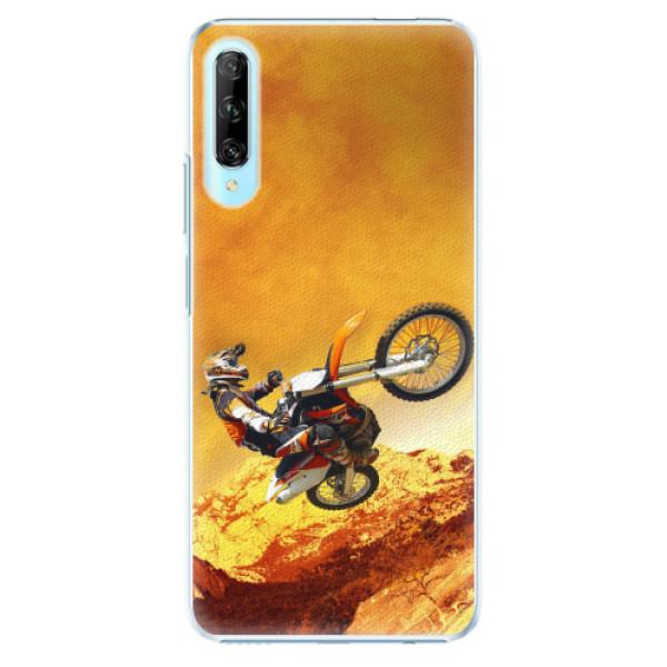 Plastové pouzdro iSaprio - Motocross - Huawei P Smart Pro
