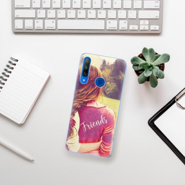 Odolné silikonové pouzdro iSaprio - BF Friends - Huawei Honor 9X