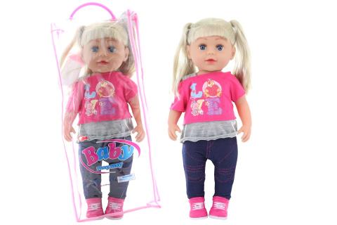 Panenka blondýnka v sáčku 45 cm