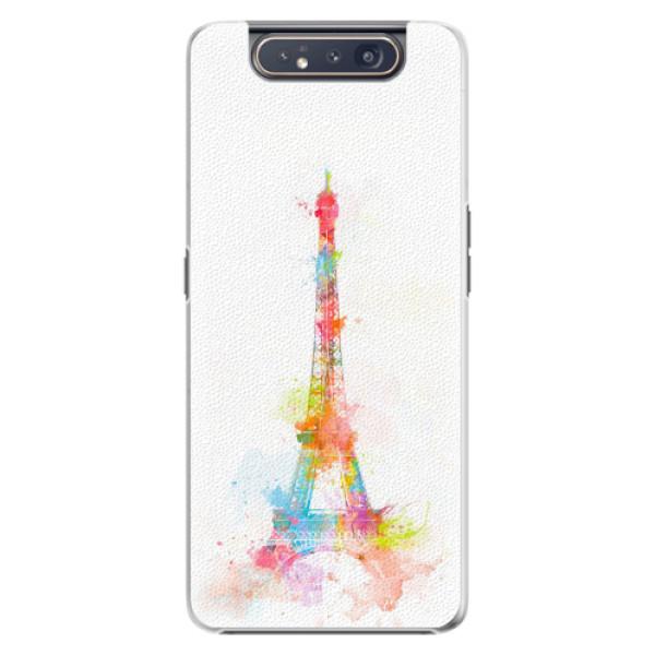 Plastové pouzdro iSaprio - Eiffel Tower - Samsung Galaxy A80