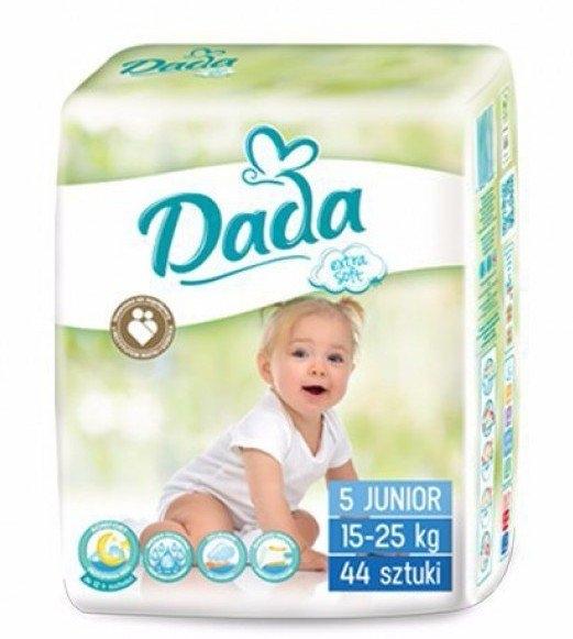Dada Extra Soft plenkové kalhotky vel 5, (15-25 kg) 44 ks