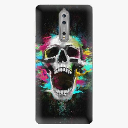 Plastový kryt iSaprio - Skull in Colors - Nokia 8