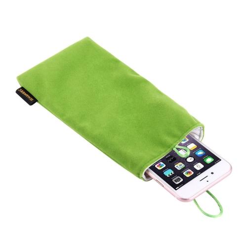 Univerzální pouzdro / kapsa na mobil Flanel Haweel - zelená