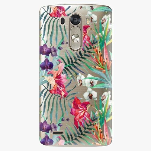 Plastový kryt iSaprio - Flower Pattern 03 - LG G3 (D855)