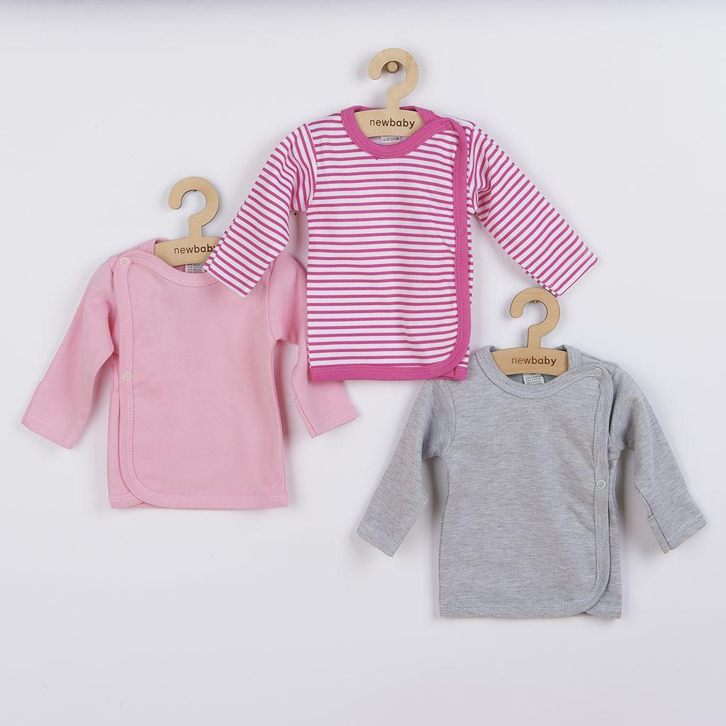 Kojenecká košilka New Baby Classic II Holka 3ks - dle