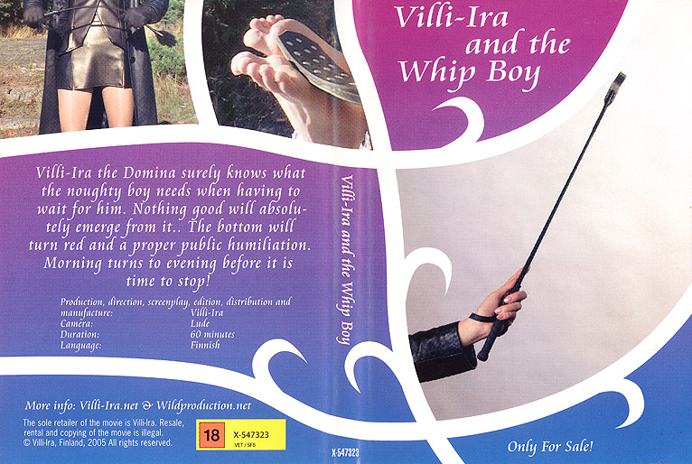 DVD Villi-Ira and the Whip boy