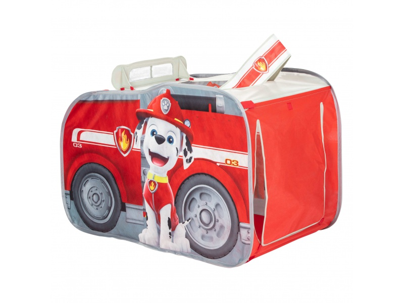Dětský Pop Up stan Paw Patrol hasičské auto