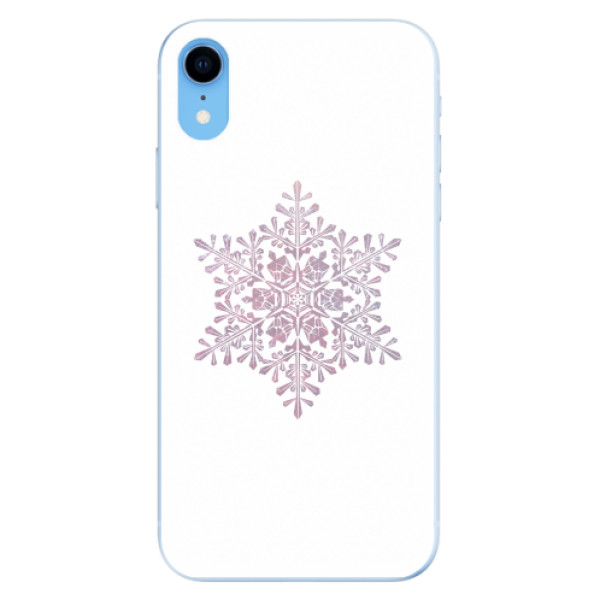 Odolné silikonové pouzdro iSaprio - Snow Flake - iPhone XR
