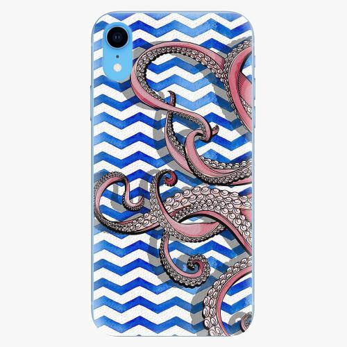Silikonové pouzdro iSaprio - Octopus - iPhone XR