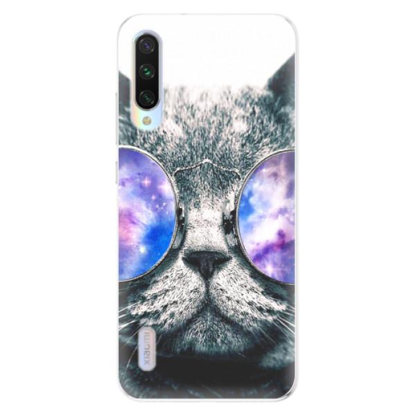 Odolné silikonové pouzdro iSaprio - Galaxy Cat - Xiaomi Mi A3