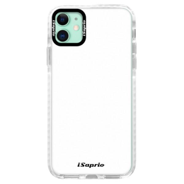 Silikonové pouzdro Bumper iSaprio - 4Pure - bílý - iPhone 11