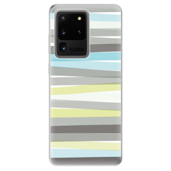 Odolné silikonové pouzdro iSaprio - Stripes - Samsung Galaxy S20 Ultra
