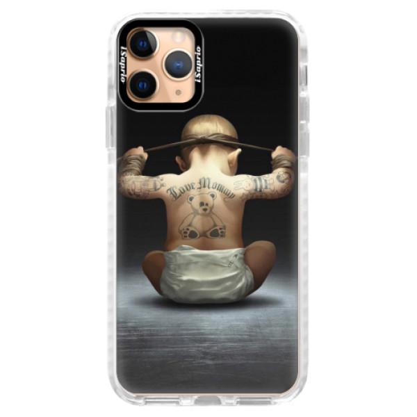 Silikonové pouzdro Bumper iSaprio - Crazy Baby - iPhone 11 Pro