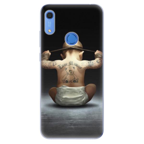 Odolné silikonové pouzdro iSaprio - Crazy Baby - Huawei Y6s