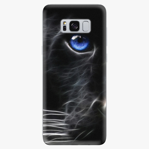 Silikonové pouzdro iSaprio - Black Puma - Samsung Galaxy S8