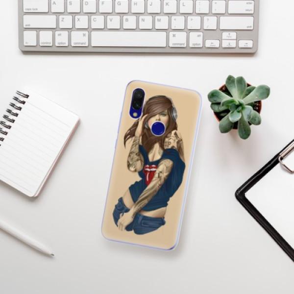 Odolné silikonové pouzdro iSaprio - Girl 03 - Xiaomi Redmi 7