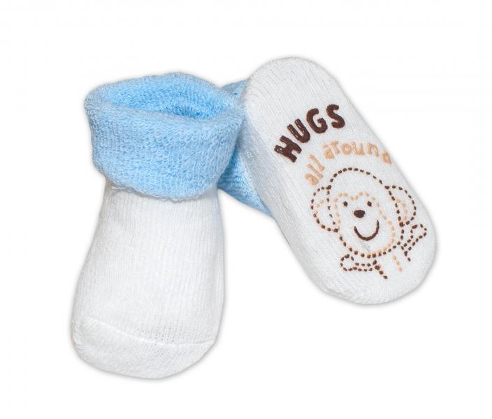 Kojenecké ponožky Risocks různé motivy - sv. modrá - 0/6 měsíců