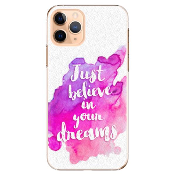 Plastové pouzdro iSaprio - Believe - iPhone 11 Pro