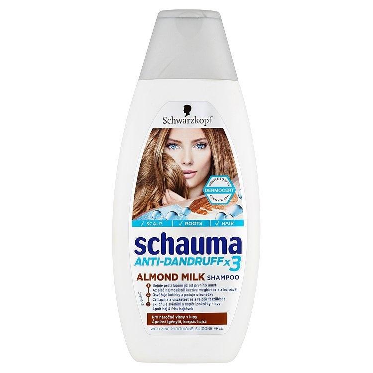 Anti-Dandruff X3 šampon Almond Milk 400 ml
