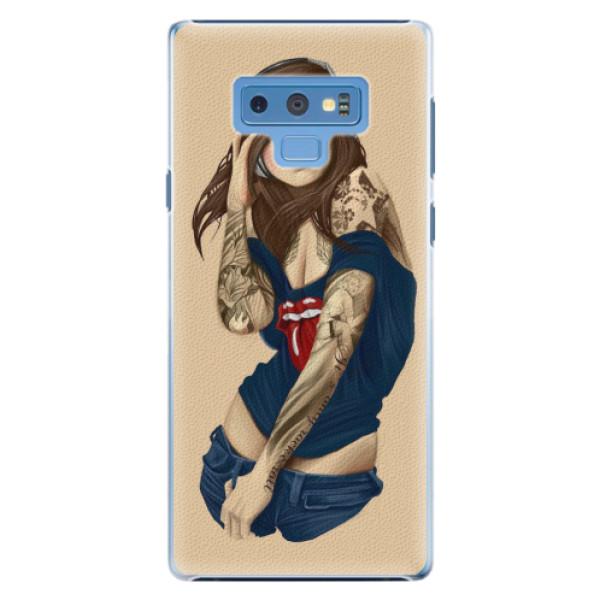 Plastové pouzdro iSaprio - Girl 03 - Samsung Galaxy Note 9