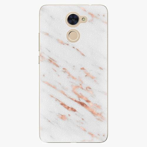 Plastový kryt iSaprio - Rose Gold Marble - Huawei Y7 / Y7 Prime