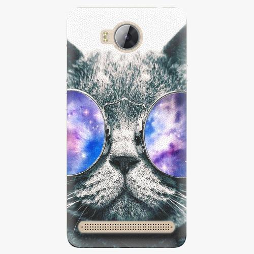 Plastový kryt iSaprio - Galaxy Cat - Huawei Y3 II