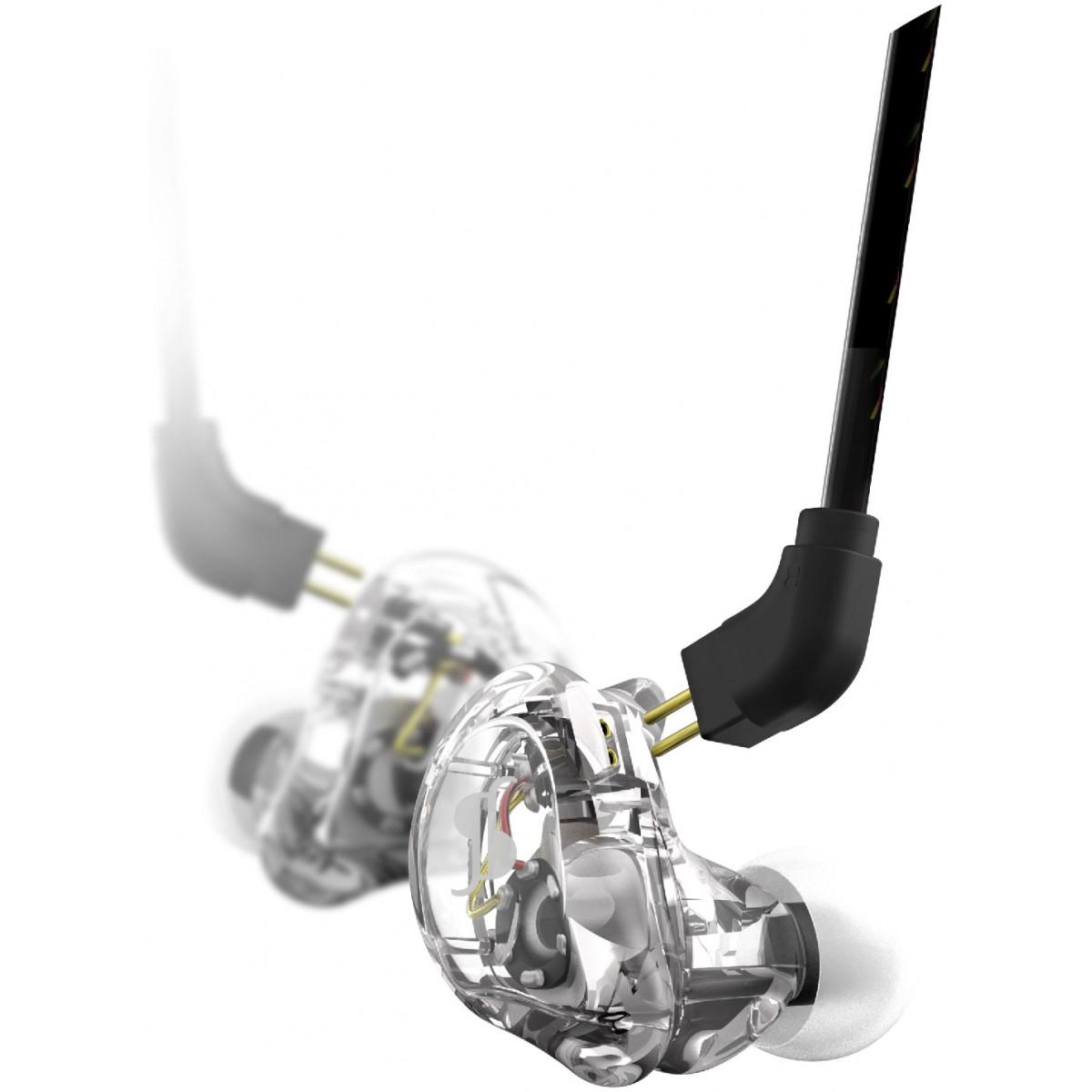 Stagg SPM-235 In-Ear sluchátka, transparentní