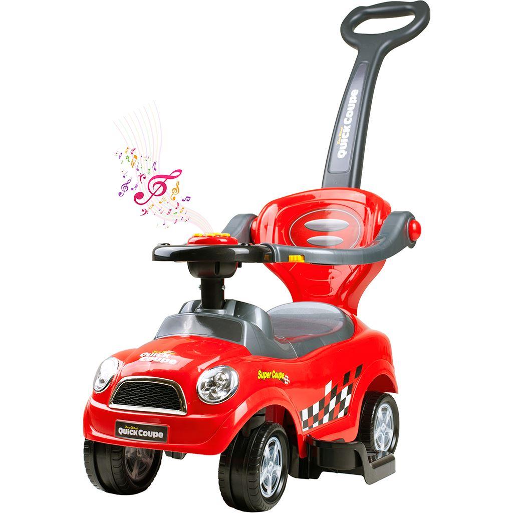 Dětské hrající jezdítko 3v1 Bayo Super Coupe