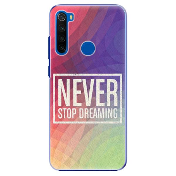 Plastové pouzdro iSaprio - Dreaming - Xiaomi Redmi Note 8T