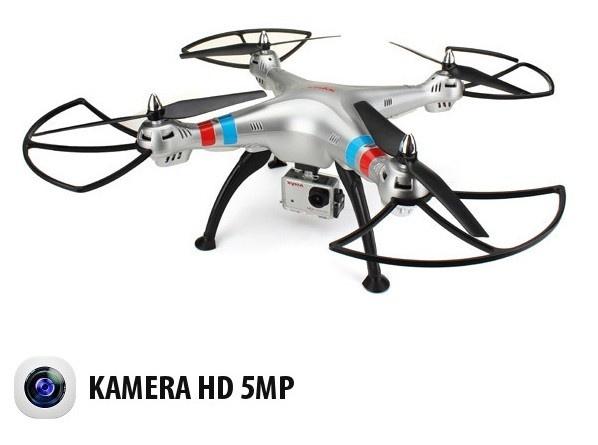 SYMA X8G - 8Mpix HD kamera - dlouhá doba letu