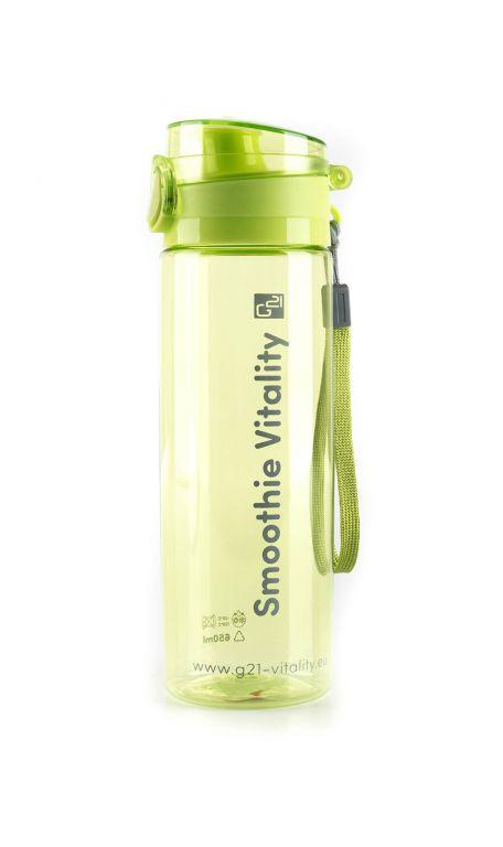 Láhev G21 na smoothie/juice, 650 ml, zelená