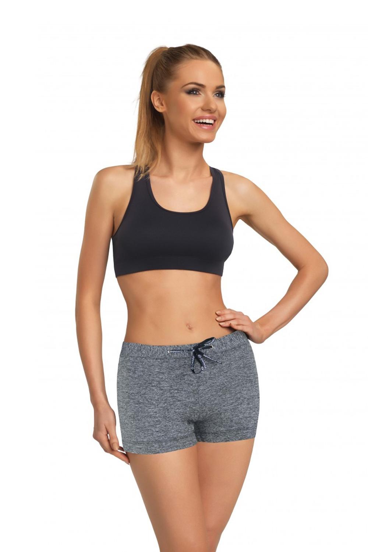 Fitness šortky Adela IV - Melanž/L