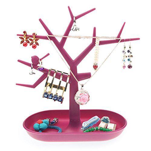 Strom na šperky - růžový