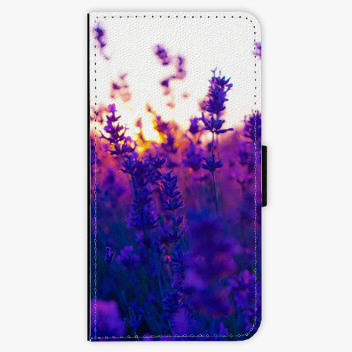 Flipové pouzdro iSaprio - Lavender Field - Sony Xperia X Compact