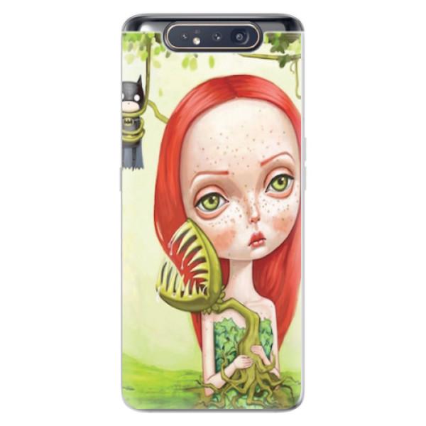 Odolné silikonové pouzdro iSaprio - Poison - Samsung Galaxy A80