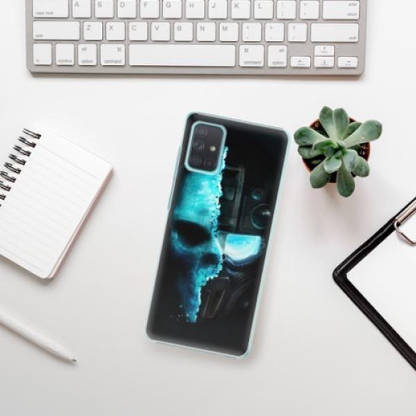 Plastové pouzdro iSaprio - Roboskull - Samsung Galaxy A71