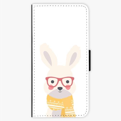 Flipové pouzdro iSaprio - Smart Rabbit - Nokia 5