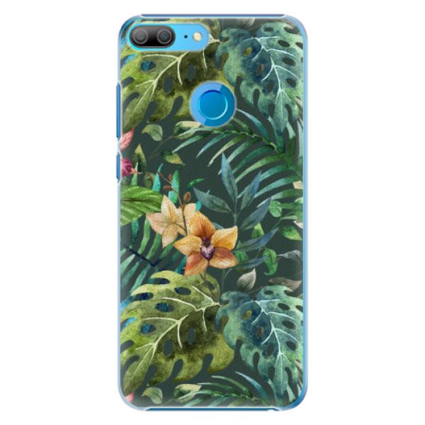 Plastové pouzdro iSaprio - Tropical Green 02 - Huawei Honor 9 Lite